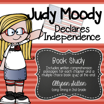 Judy Moody Declares Independence Book Study