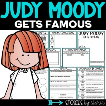 Judy Moody Gets Famous Book Questions and Vocabulary