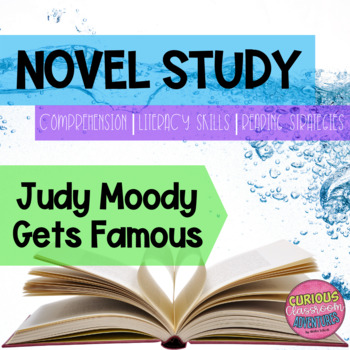 Judy Moody Gets Famous Novel Study