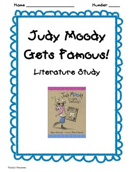 Judy Moody Gets Famous Vocabulary