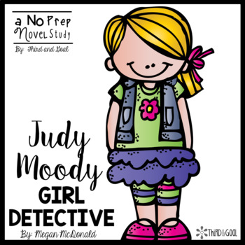 Judy Moody Girl Detective Guided Reading Pack or Novel Unit