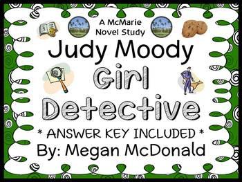 Judy Moody Girl Detective (Megan McDonald) Novel Study / Comprehension  (31 pgs)