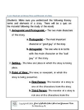 Judy Moody Girl Detective Literature and Grammar Unit