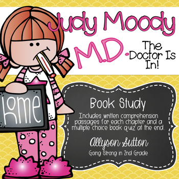 Judy Moody, M.D. The Doctor Is In! Book Study