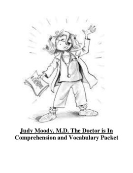 Judy Moody, M.D. The Doctor is In Guided Reading Unit Level N