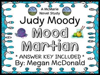 Judy Moody Mood Martian (Megan McDonald) Novel Study / Com