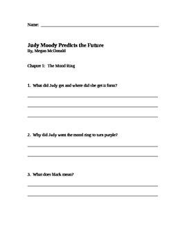 """Judy Moody Predictis the Future"" by Megan McDonald"