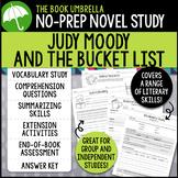 Judy Moody and the Bucket List Novel Study
