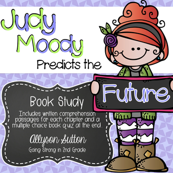 Judy Moody Predicts the Future Book Study