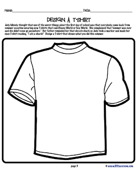 free coloring pages judy moody | Judy Moody: Reader Response Activities, Printables and ...