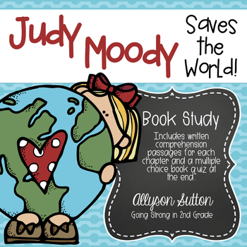 Judy Moody Saves the World Book Study