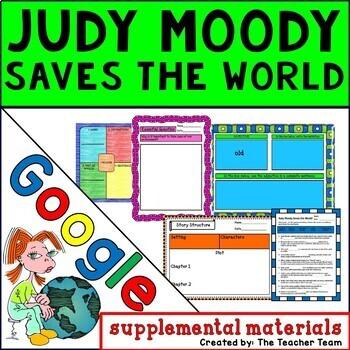 Judy Moody Saves the World Journeys 3rd Grade Unit 4 Google Drive Resource