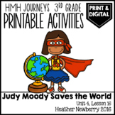 Judy Moody Saves the World: Journeys 3rd Grade Lesson 16 •