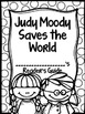 Judy Moody Saves the World Journey's Activities Third Grade Unit 4 Lesson 16
