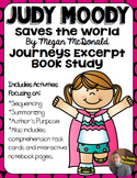 Judy Moody Saves the World: Excerpt ONLY Book Study- Organizers and NB Pages