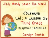 Judy Moody Saves the World Journeys Unit 4 Lesson 16 Third Grade