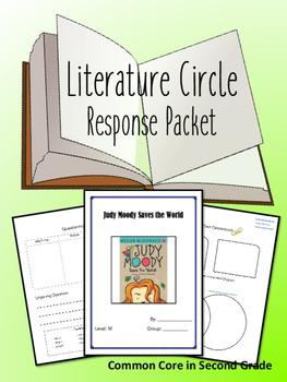 Judy Moody Saves the World Literature Response- Novel Study!