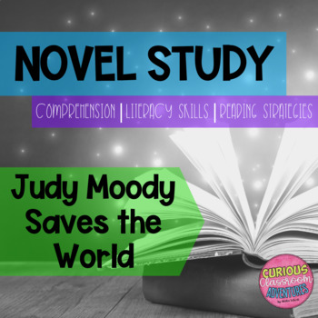 Judy Moody Saves the World Novel Study