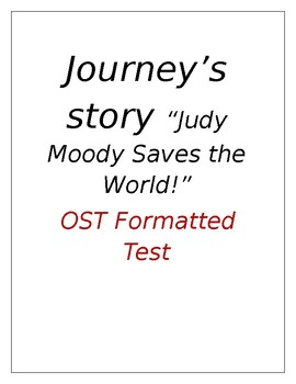 Judy Moody Saves the World OST Style Test