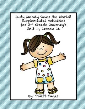 Judy Moody Saves The World Summary