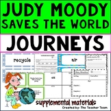 Judy Moody Saves the World | Journeys 3rd Grade Unit 4 Lesson 16 Printables