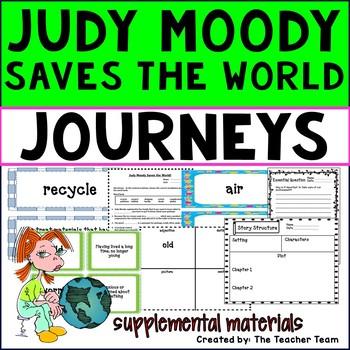 Judy Moody Saves the World Journeys Third Grade Supplement
