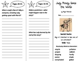 Judy Moody Saves the World Trifold - Journeys 3rd Grade Unit 4 Week 1