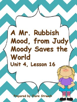 Judy Moody Saves the World extras