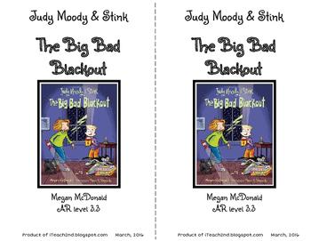 Judy Moody & Stink The Big Bad Blackout