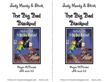 Judy Moody & Stink The Big Bad Blackout