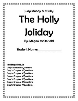 Judy Moody & Stink: The Holly Joliday (Book Club with questions/chapter)