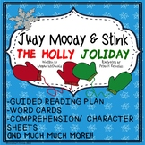 Judy Moody and Stink The Holly Joliday Guided Reading Novel study NO PREP