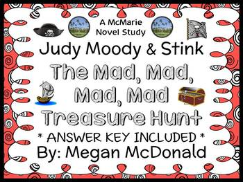 Judy Moody & Stink: The Mad, Mad, Mad, Mad Treasure Hunt (McDonald) Novel Study