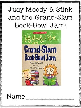 Judy Moody & Stink and the Grand-Slam Book-Bowl Jam Companion Pack