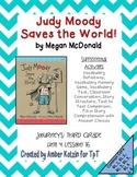 Judy Moody Supplemental Activities 3rd Grade Journeys Unit 4, Lesson 16