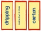 Judy Moody, Vocabulary Cards, Unit 4, Lesson 16, Journeys 3rd Grade
