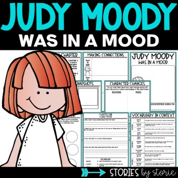 Judy Moody Was in a Mood Book Questions and Vocabulary