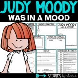 Judy Moody Was in a Mood   Printable and Digital