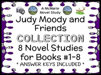 Judy Moody and Friends COLLECTION (Megan McDonald) 8 Novel Studies (130 pages)