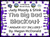 Judy Moody & Stink: The Big Bad Blackout (Megan McDonald) Novel Study