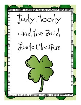 Judy Moody and the Bad Luck Charm Guided Reading Booklet