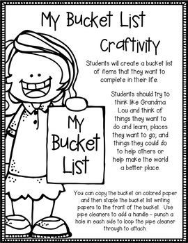 Judy Moody and the Bucket List Book Study