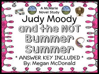 Judy Moody and the NOT Bummer Summer (Megan McDonald) Novel Study