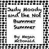 Judy Moody and the Not Bummer Summer - Chapter Questions