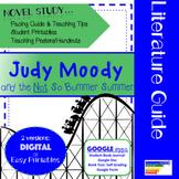Judy Moody & the NOT So Bummer Summer Literature Guide + Digital Version