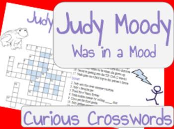 Judy Moody was in a Mood- Worksheet