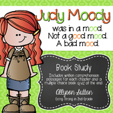 Judy Moody was in a mood. Not a good mood. A bad mood. Book Study