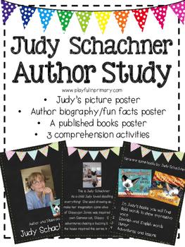 Judy Schachner Author Study