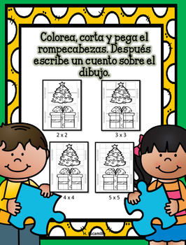 Juega y escribe en marzo- Play and Write in Spanish