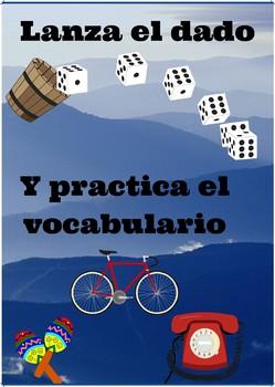 Juego: Lanza el dado y practica el vocabulario